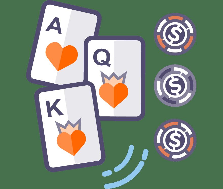 Los 59 mejores sitios de Casino de Póker de tres cartas en línea en Paraguay